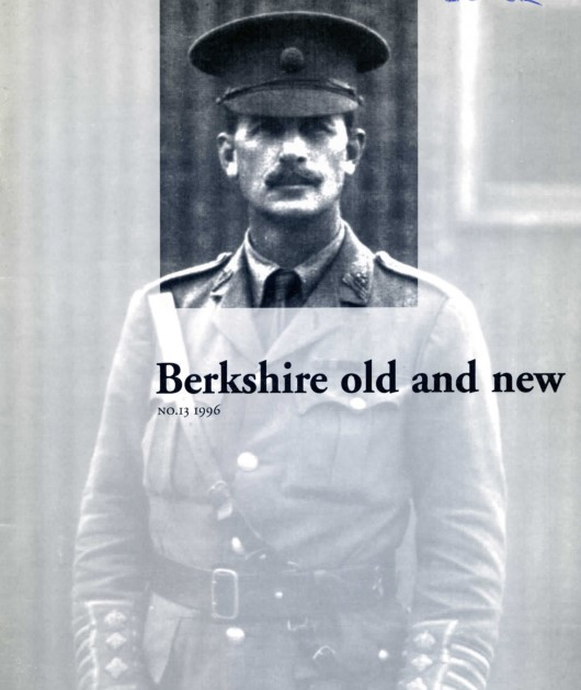 Berkshire Old and New Journal cover 1996